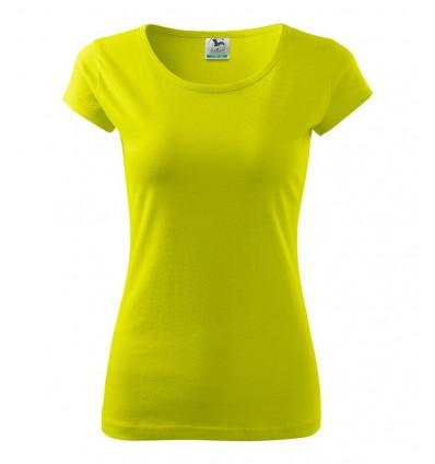 Koszulka damska - limonka