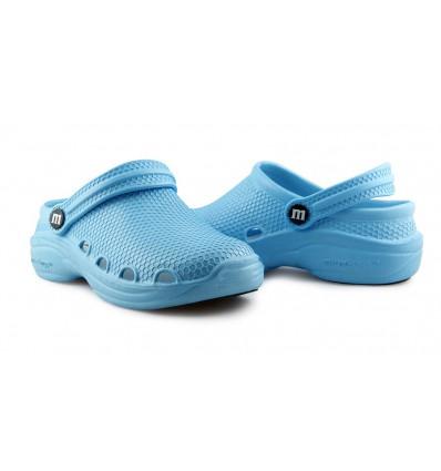 Obuwie Miraclogs niebieskie