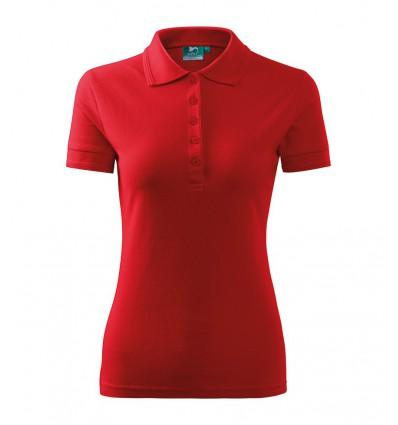 Koszulka Polo damska - biała