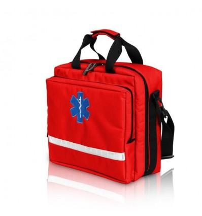 Duża torba medyczna dla pielęgniarek - czerwona