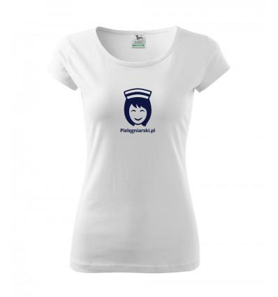 Koszulka z Logo pielęgniarski.pl