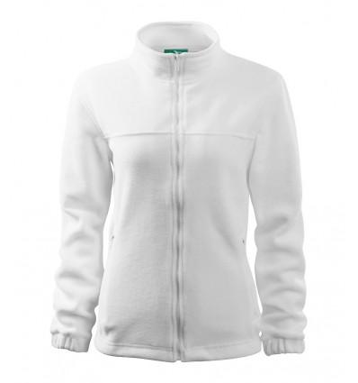 Bluza polarowa damska - biała