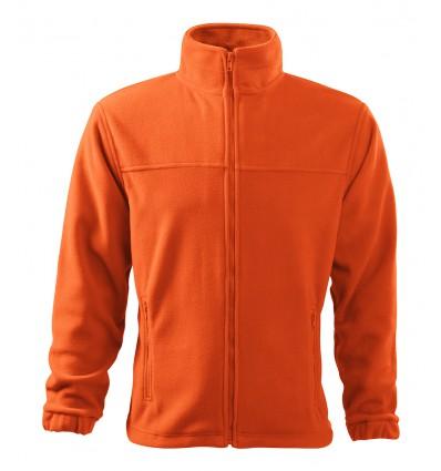Bluza polarowa męska pomarańczowa