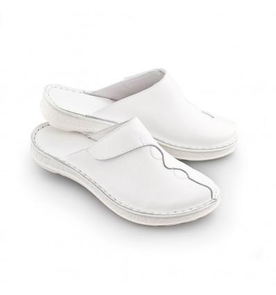 Obuwie medyczne damskie białe KD 09