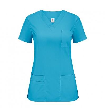 Bluza medyczna, taliowana, cztery kieszenie JC102