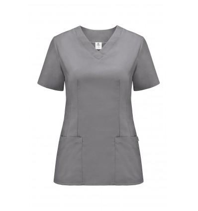 Bluza medyczna damska, fason dopasowany, JC2023