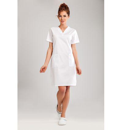 Sukienka medyczna biała JC15