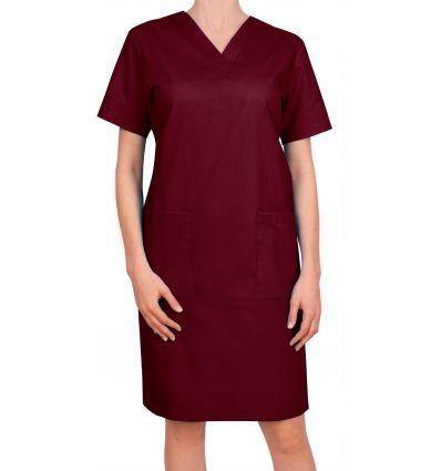 Sukienka medyczna borodowa JC15