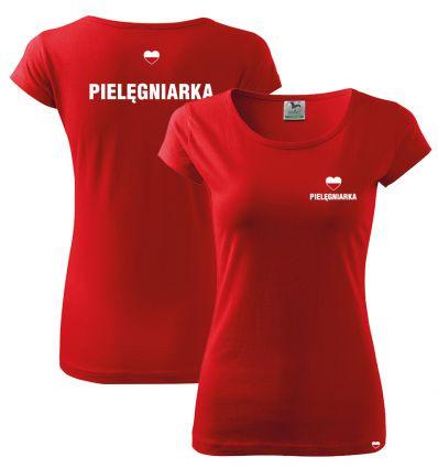 Koszulka Pielęgniarka POLSKA