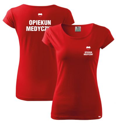 Koszulka Opiekun Medyczny POLSKA