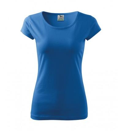 Koszulka damska - lazurowy