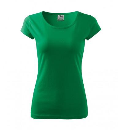 Koszulka damska - zielona