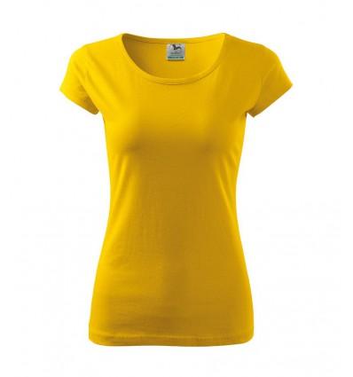 Koszulka damska - żółta