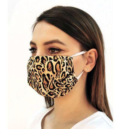 Maseczka medyczna cętki leoparda