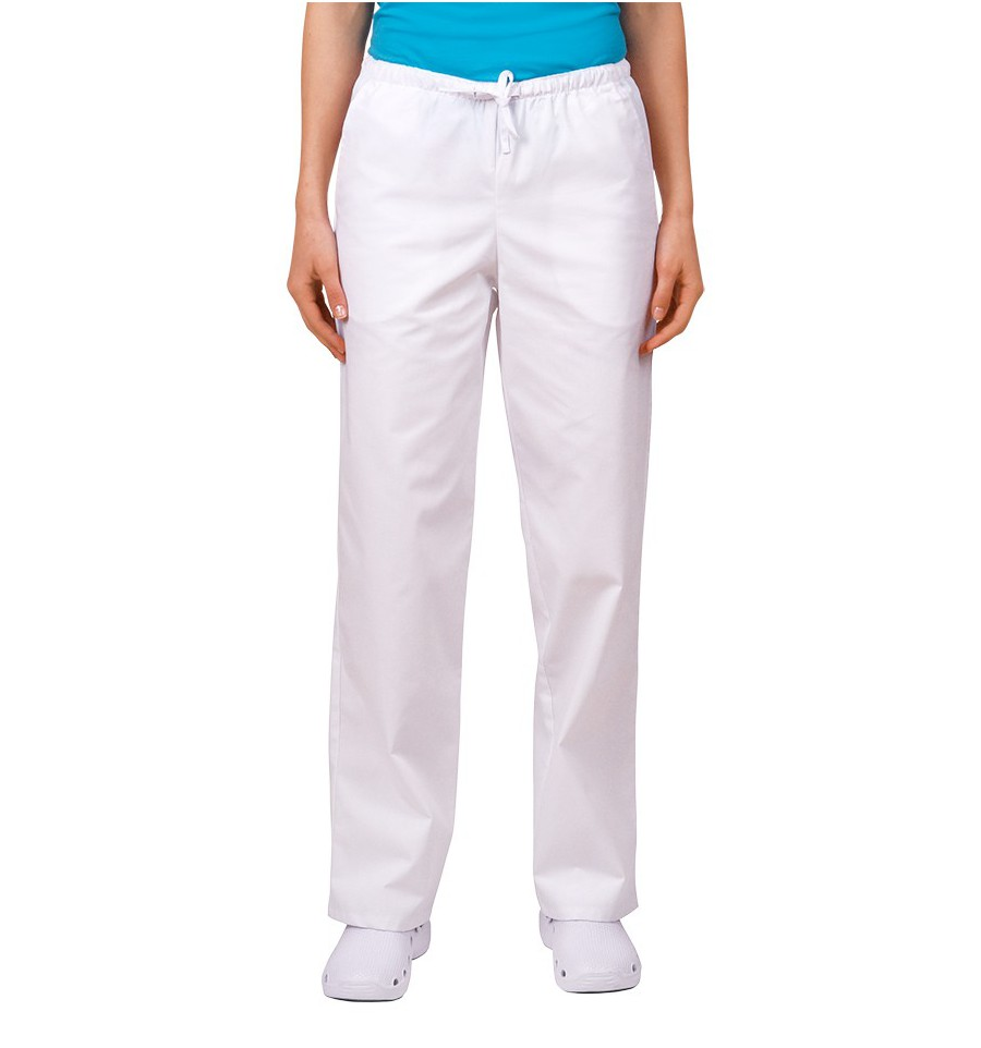 473927af Spodnie uniwersalne białe JC119