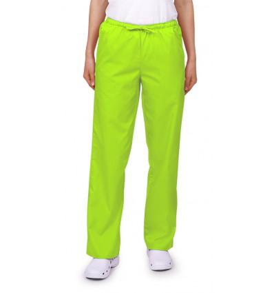 Spodnie uniwersalne limonkowe JC119