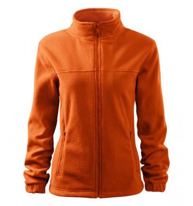 Bluza polarowa damska - pomarańczowa