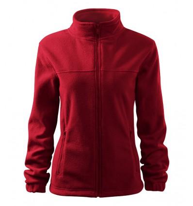 Bluza polarowa damska - czerwona