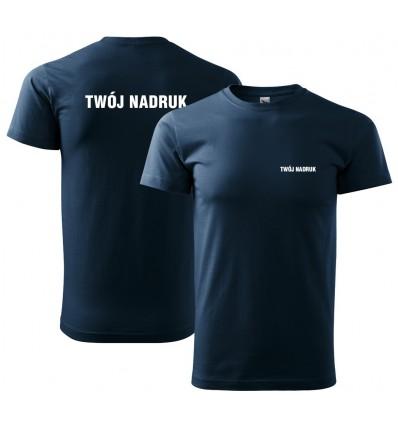Koszulka męska z nadrukiem Wzór nr 1
