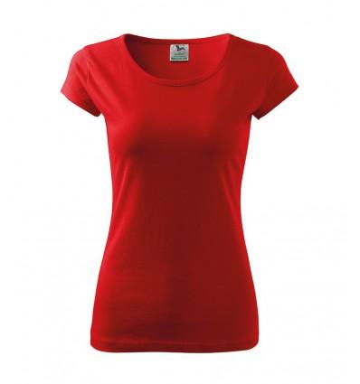 Koszulka damska - czerwona