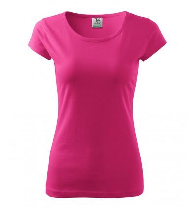Koszulka damska - czerwień purpurowa