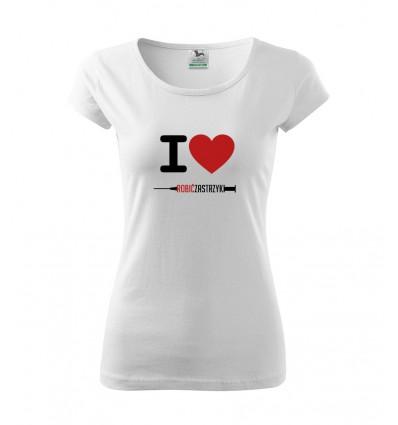 Koszulka Pielęgniarka Strzykawka
