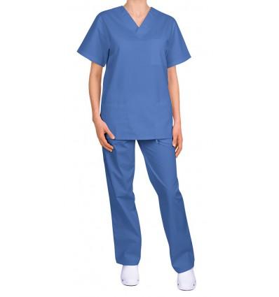 Komplet medyczny, uniwersalny, niebieski JC125