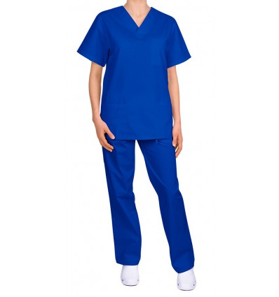 Komplet medyczny, uniwersalny, niebieski ciemny JC125