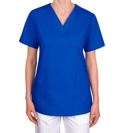 Bluza medyczna, taliowana, niebieska ciemna JC101