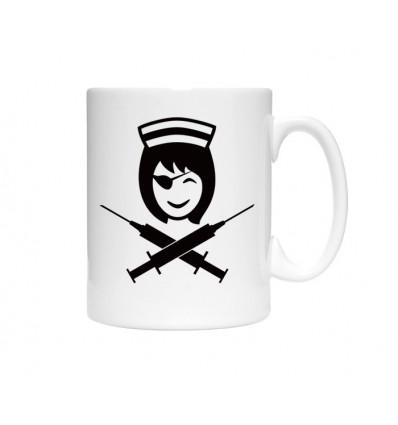 Kubek Pielęgniarka pirat