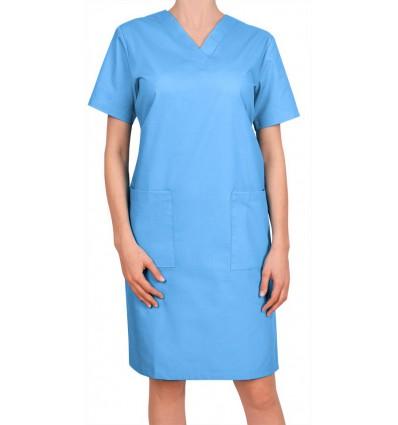 Sukienka niebieska jasna JC15