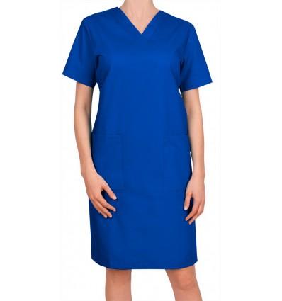 Sukienka niebieska ciemna JC15