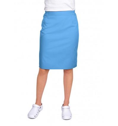 Spódnica niebieska jasna JC122