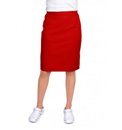 Spódnica czerwona JC122